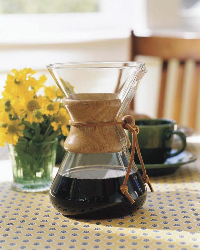 Chemex Glass Coffee Maker LifeStyle Fancy