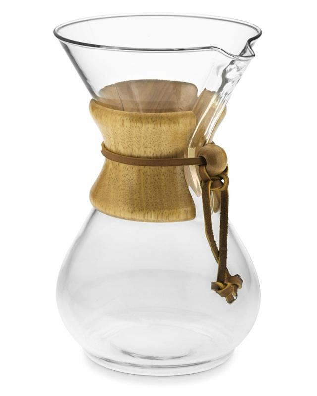 Glass Pot For Coffee Maker : Chemex Glass Coffee Maker LifeStyle Fancy