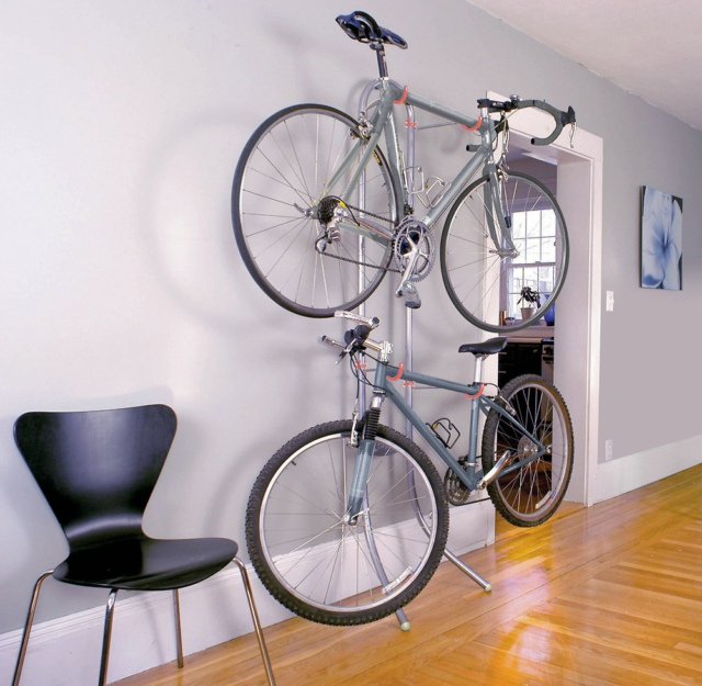 Delta Cycle Michelangelo 2 Bike Wall Rack Lifestyle Fancy