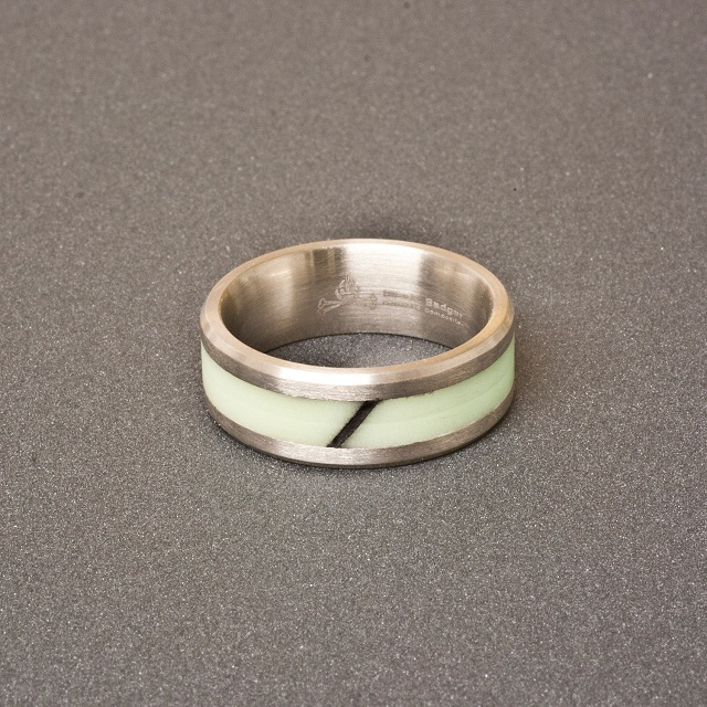 Black Badger Isotope Ring