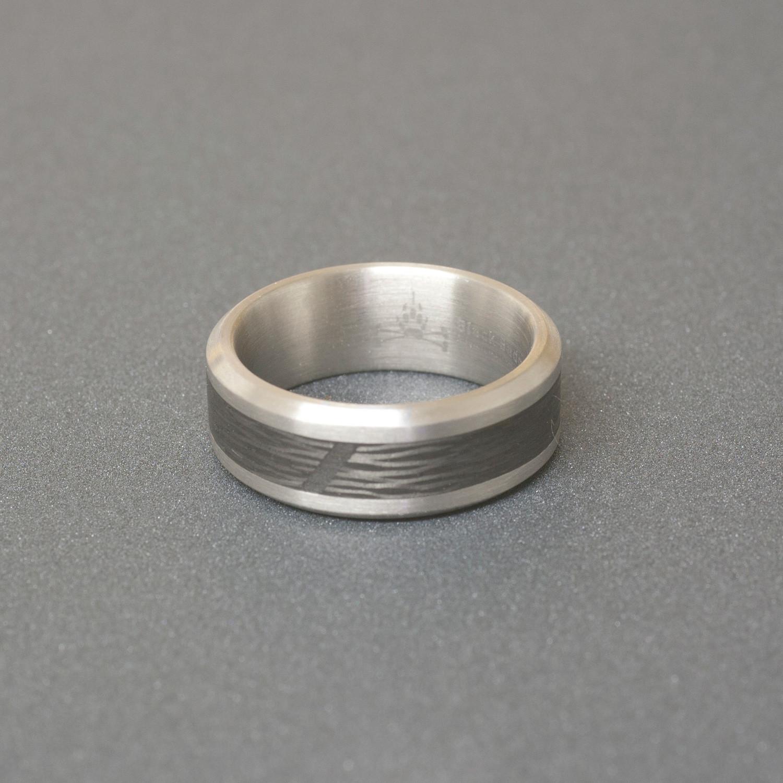Best Deals Black Badger Rings Of Titanium Amp Carbon Fiber