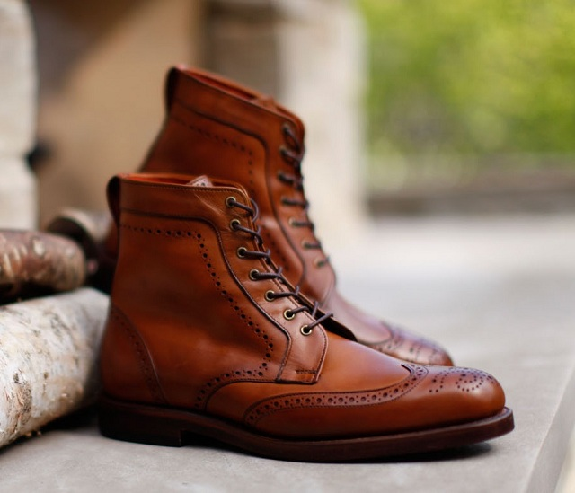 Allen Edmonds Dalton Lace Up Boot Lifestyle Fancy