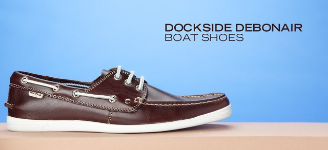 Dockers Boat Shoes. Brown leather Gerli Lace-ups