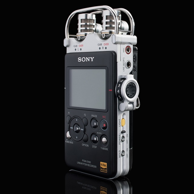 SONY PCM-D100 Portable High Resolution Audio Recorder_5
