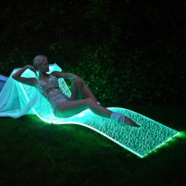 Bemoss Lumiluxe Led Lounge Chair Lifestyle Fancy