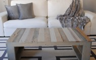 Raka Mod Modern Grey Pallet Coffee Table