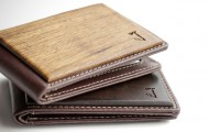 Slim Timber Wooden Bifold Wallet