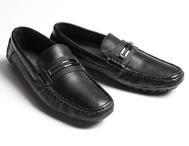 Calvin Klein Shoes, Felix Plain Toe Suede Buck Shoe