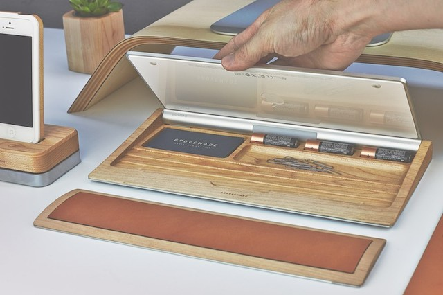 Grovemade Desk Collection Lifestyle Fancy