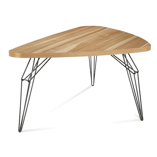 Saloom Furniture Dining Tables LifeStyle Fancy : Saloom LEM Triangle Dining Table3 from www.lifestylefancy.com size 640 x 640 jpeg 35kB