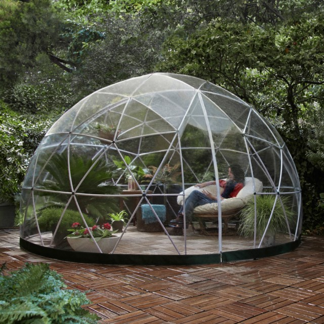 garden igloo the all year outdoor igloo lifestyle fancy. Black Bedroom Furniture Sets. Home Design Ideas