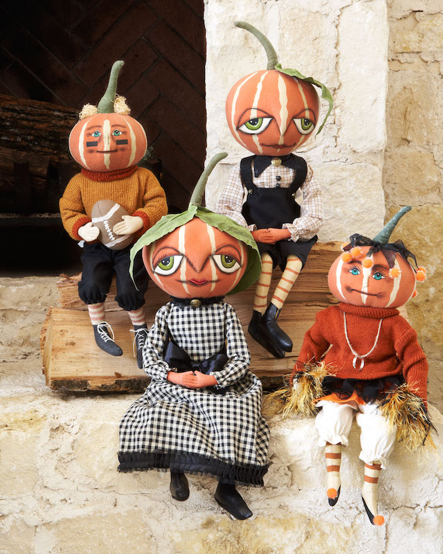 Gathered Traditions By Joe Spencer Pumpkin Doll