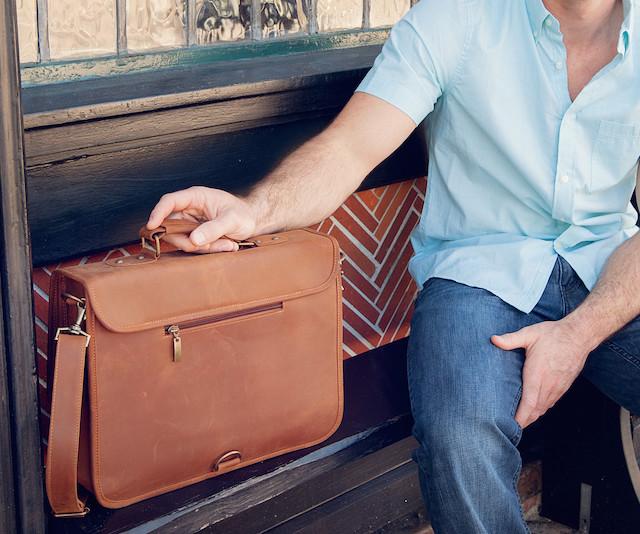 Statement Leather Goods Handmade Leather Satchels