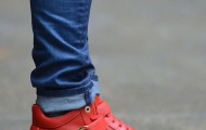 Salvatore Ferragamo Nayon Gancini Leather High-Top Sneakers