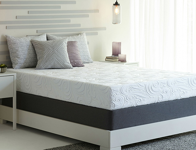 """Discounted 12"""" Grand Memory Foam Mattress And New Innovative Steel Box Spring Set - King Size"""