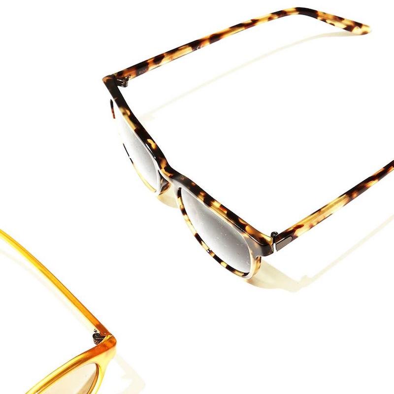 Bottega Veneta Tortoiseshell D-framed Sunglasses
