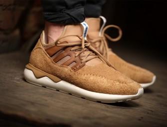 adidas Tubular Moc Runner Shoes in Cardboard/Timber