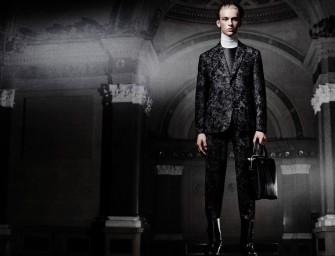 Dark Matter: Special Collections Balenciaga Fall 2015 Lookbook at Barneys New York