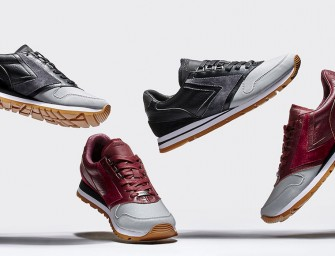 BNY Sole Series: Brooks Reflective-Detail Sneakers