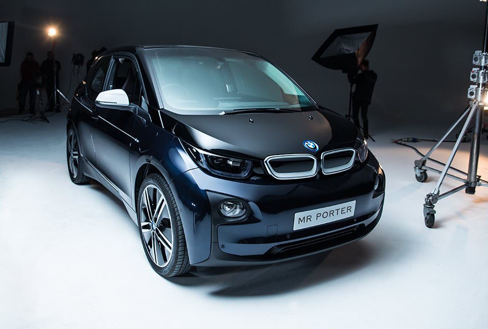 mr porter x bmw i3 limited edition electric car. Black Bedroom Furniture Sets. Home Design Ideas