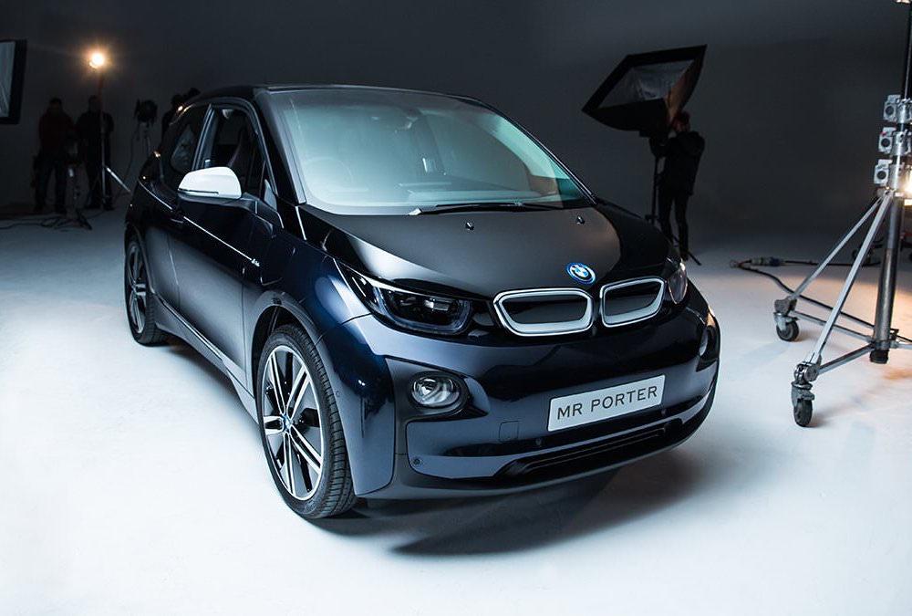 mr porter x bmw i3 limited edition electric car lifestyle fancy. Black Bedroom Furniture Sets. Home Design Ideas