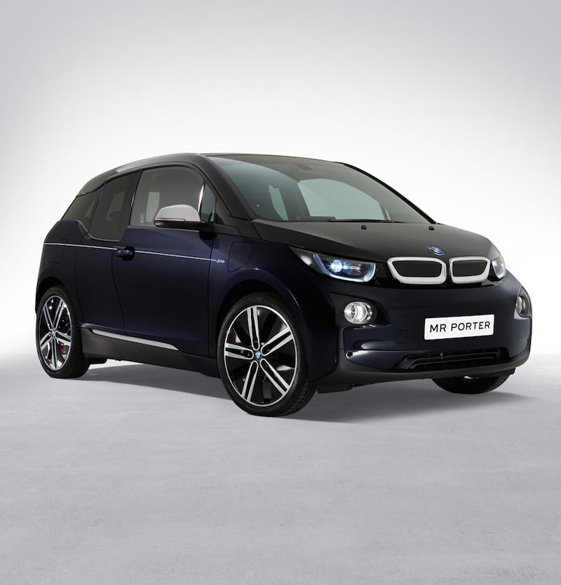 Mr Porter x BMW i3 Limited-Edition Electric Car | LifeStyle Fancy