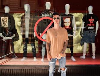 Justin Bieber Purpose Tour XO Barneys New York Collaboration