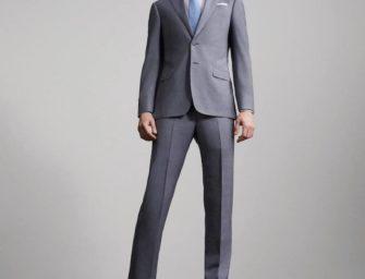 Strong Suit: Armani Spring 2017 Menswear Lookbook