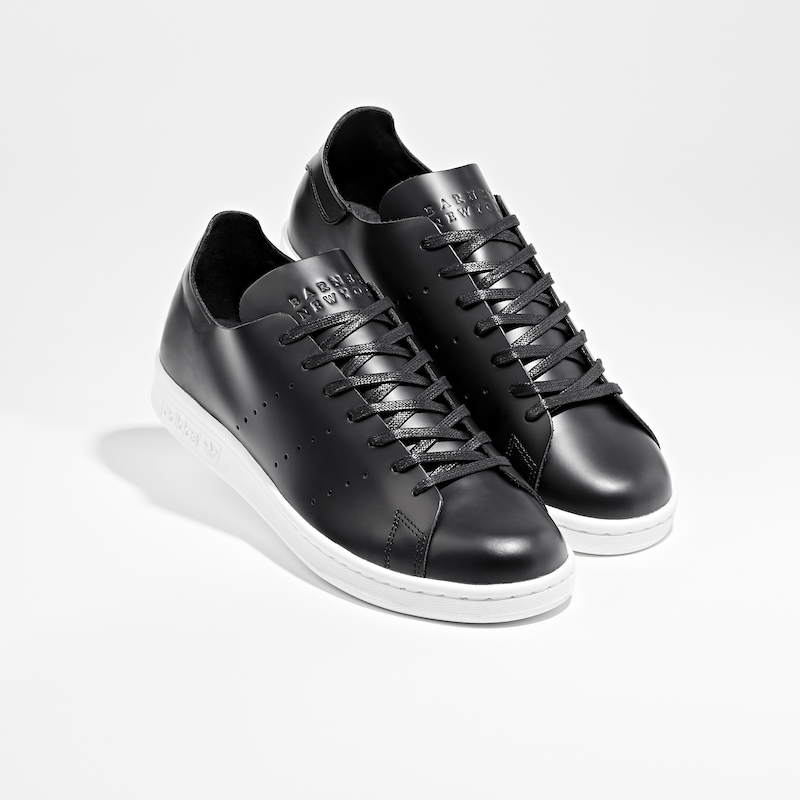 BNY Sole Series adidas Stan Smith Deconstructed Leather Sneakers