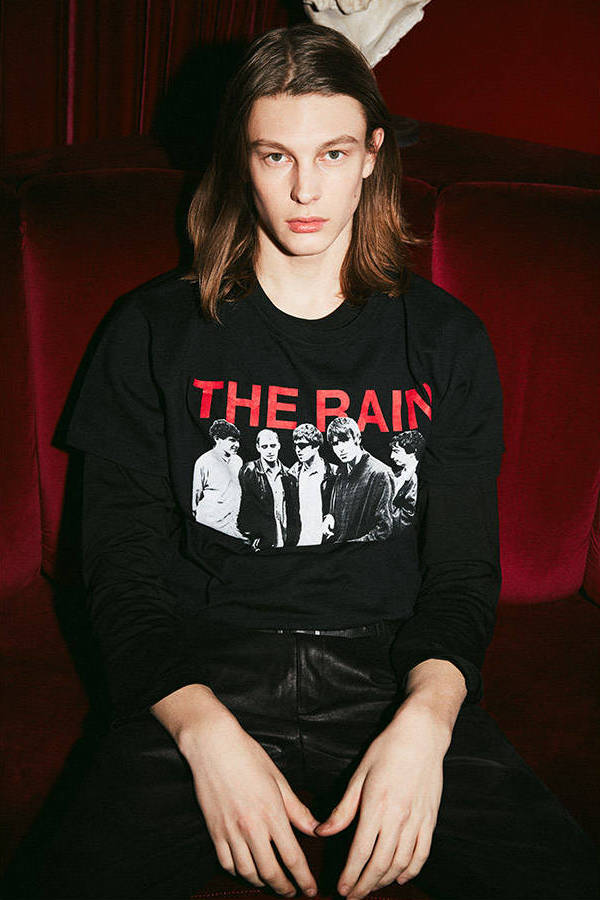 Off-White Modernism Printed Cotton Jersey T-Shirt