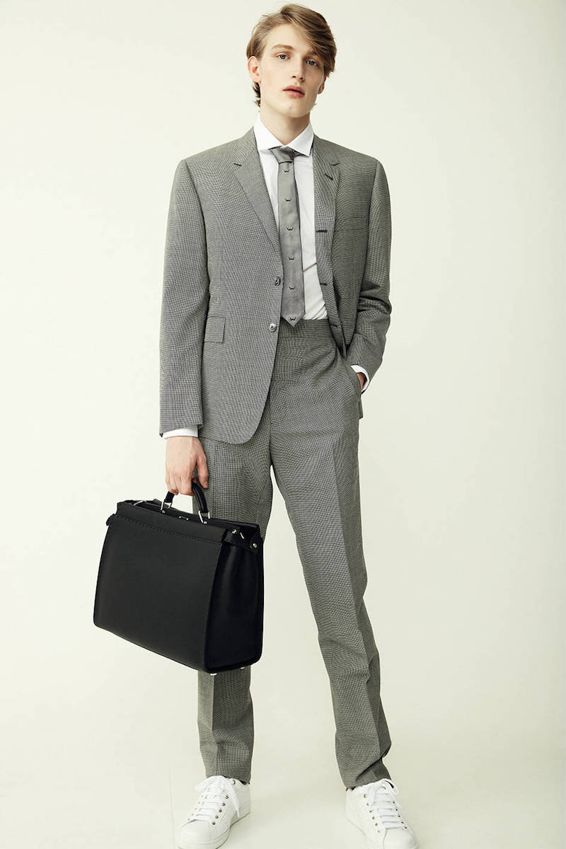 Thom Browne Micro Houndstooth Light Wool Suit